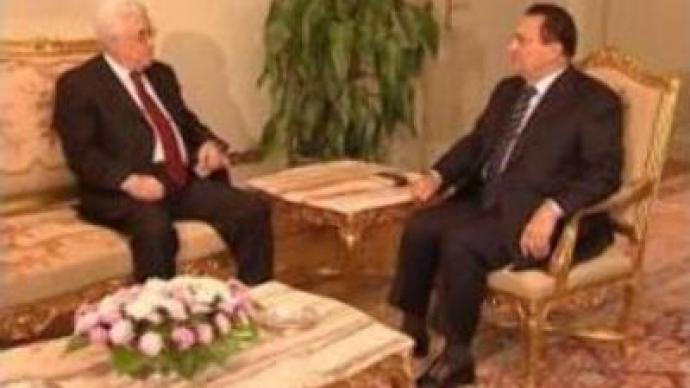 Abbas and Mubarak discuss proposals for new Palestinian government