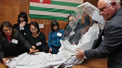 Moscow praises Abkhaz election, vows support
