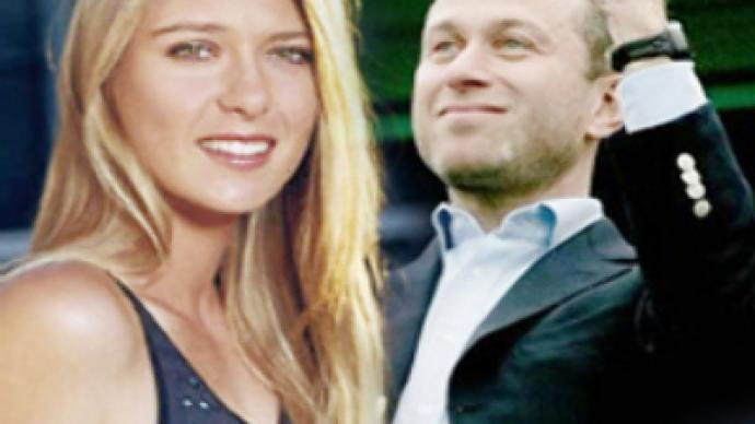 Abramovich and Sharapova on list of sport elite