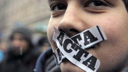ACTA error: Democracy not found
