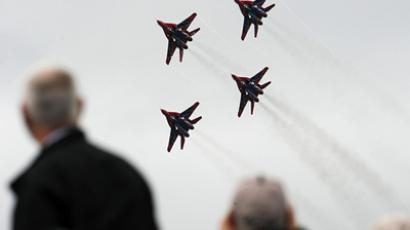 Aces high as Russia's MAKS air show takes off