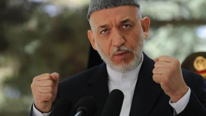 Afghan president threatens NATO with war