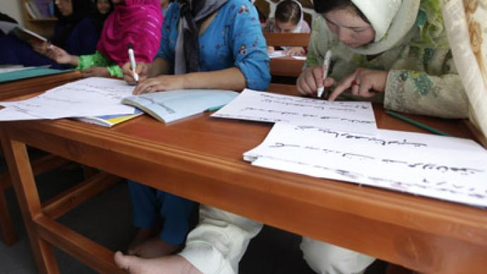 Scores of Afghan schoolgirls poisoned in suspected Taliban attack