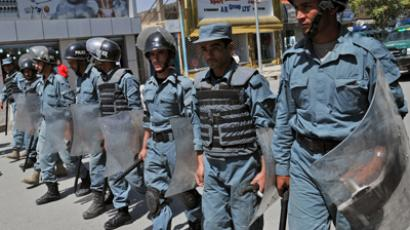 Multiple suicide bombers, gunmen attack Afghan traffic police HQ