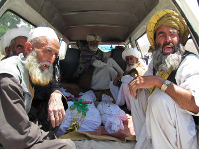 NATO strike kills women and girls gathering firewood – Afghan officials (GRAPHIC PHOTOS)