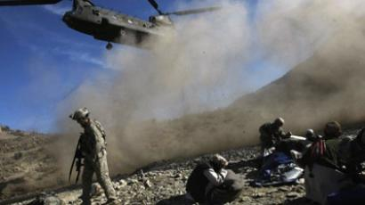 US in Afghanistan: no signs of departure
