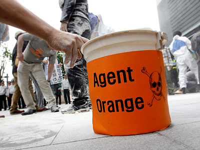 Agent Orange's deadly legacy spreads to Japan