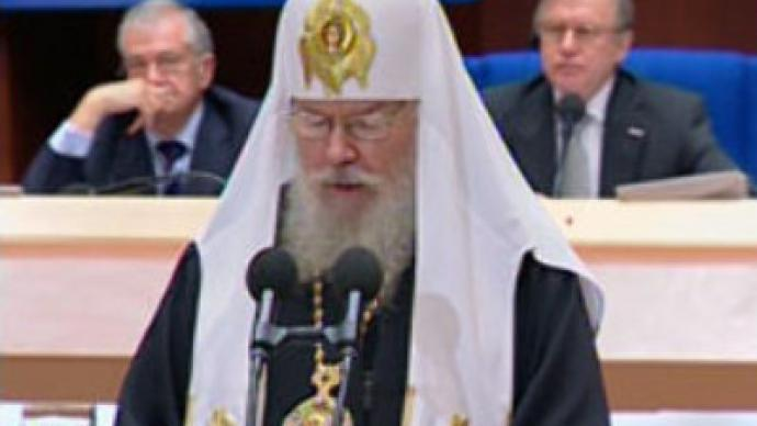 """Aleksy II presents his vision of the """"past, present and future"""" of the European Continent"""