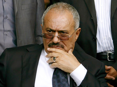 Regime unchanged: under-fire Yemeni president back in post