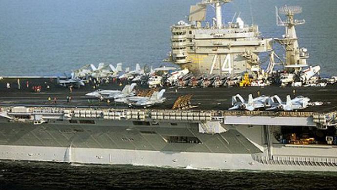 Gunboat diplomacy: America launches Persian Gulf surge