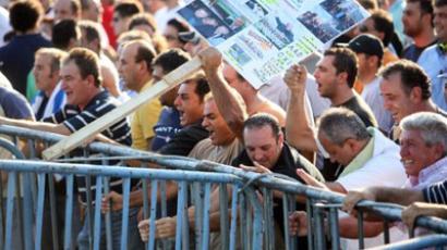 Greece is Eurozone's sacrificial lamb