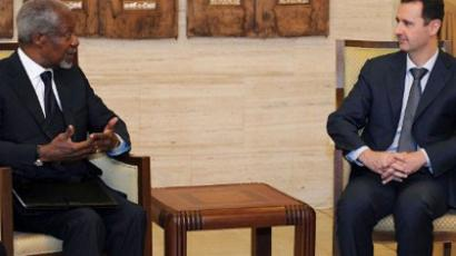 "Syrian talks fail, but Annan is ""optimistic"""