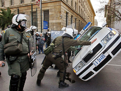 Anarchy in Europe: it could only take a spark