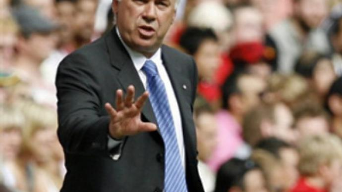 Ancelotti claims first silverware with Chelsea