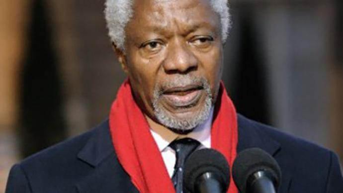 Annan calls for end to violence ahead of Syria visit — RT ...