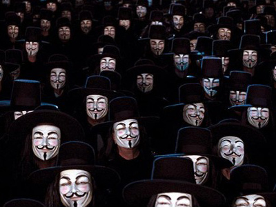 'We are legion': Anonymous hacks French presidential website