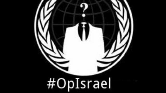 Anonymous hack hundreds of Israeli websites, delete Foreign Ministry database in support of Gaza