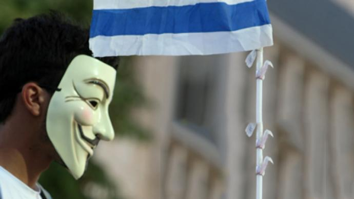 Anonymous leaks personal information of 5,000 Israeli officials