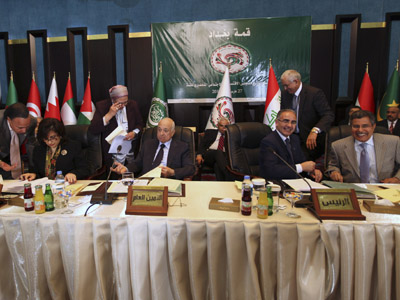 Blasts rock Baghdad as Arab Summit touches upon Syria