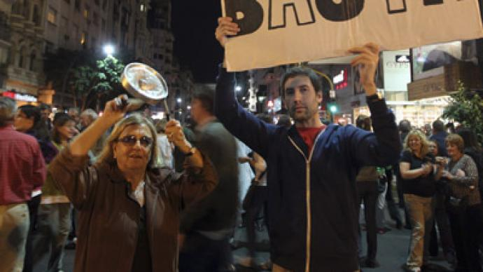 Tens of thousands of Argentines protest president's policies (PHOTOS)