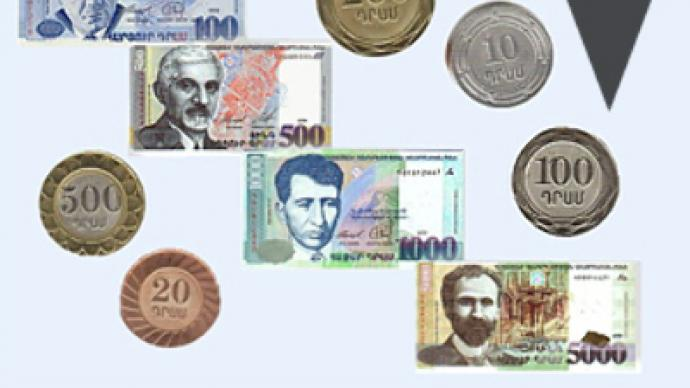 Armenian currency drops over 20% in a day