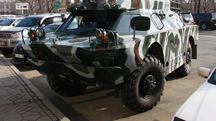 "Russian ride: ""pimp my armored vehicle!"""