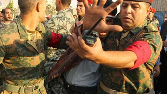 Don't shoot the protester! Egypt's army overdoes peacekeeping