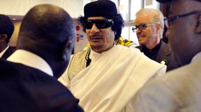 Libya rejects Gaddafi arrest warrant