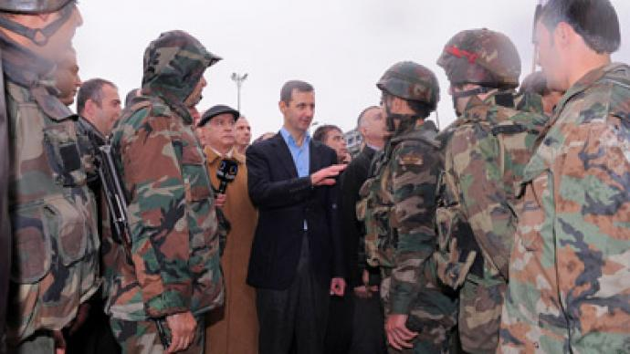 Peace first, then troop withdrawal – Syrian govt