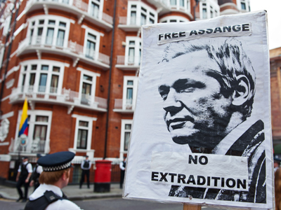 Ecuador may file appeal to ICJ if UK refuses Assange safe passage