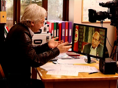 Tunisian president to Assange: I'm still a human rights activist