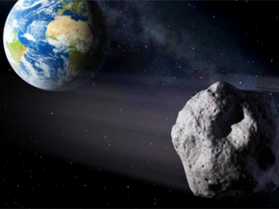 Near-miss: 150-foot-wide asteroid darts past Earth