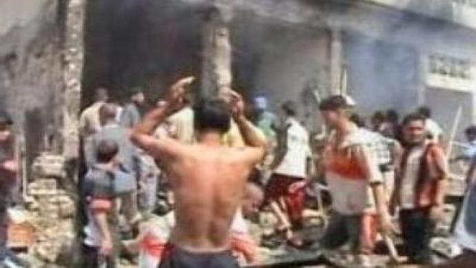 At least 25 dead in Baghdad bomb blast