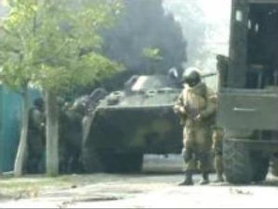 At least one militant killed in Dagestan shooting