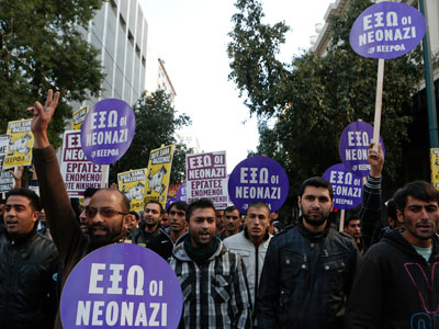 'All blacks out!': Human Rights Watch condemns 'racist' Greek police