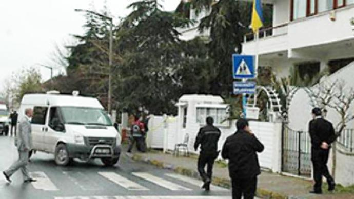 Man killed after attacking consulate of foreign wife