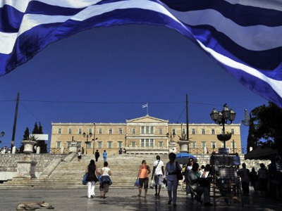Pro-austerity party wins Greek election