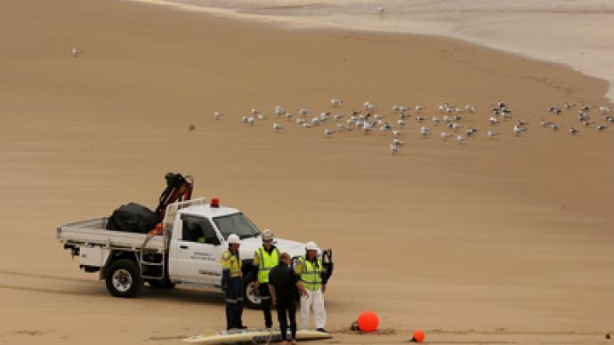 Australia warns: Stay away from washed up deadly chemical canisters
