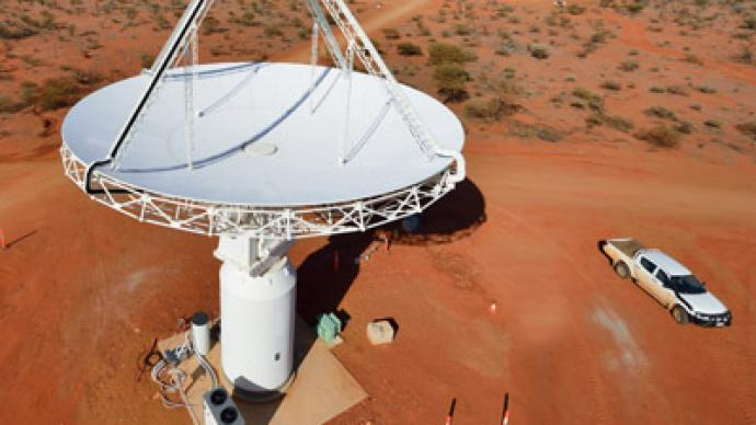Aussie super-scope begins ET hunt