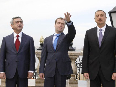 Armenia and Azerbaijan receive Medvedev's proposals on Karabakh settlement