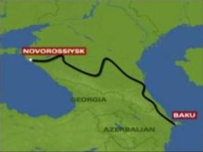 Azerbaijan stops pumping oil to Russia