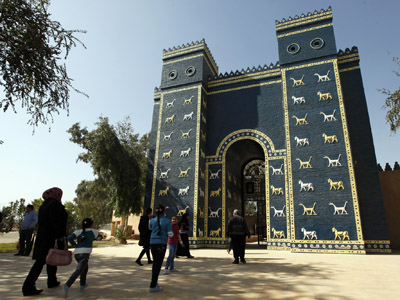 Hanging by a thread: Babylon World Wonder at risk from oil