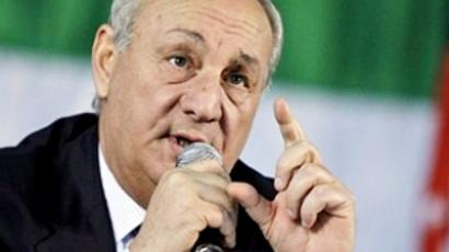 The president of Abkhazia dies in Moscow