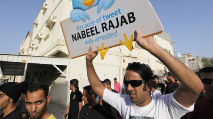 Bahrain imprisons leading rights activist over pro-democracy tweet