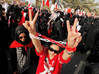 Bahrain cop crackdown: Woman dies, boy allegedly tortured