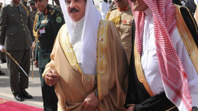 Bahrain-Saudi Arabia union 'meant to save US Navy base'
