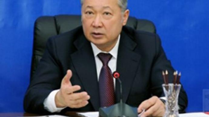 Kyrgyz President refuses to step down