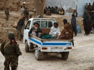 US officials: Afghan massacre committed in 2 parts