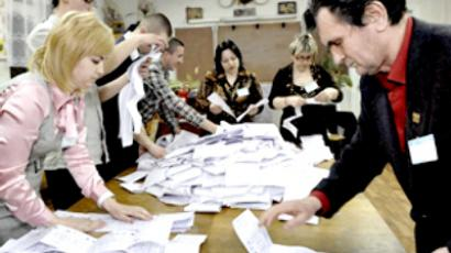 Ukraine election results falsified – Timoshenko