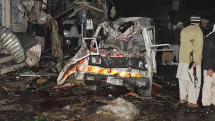 Series of bombings kill 115 in Pakistan (PHOTOS)
